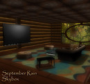 September Rain Skybox Interior Living Room