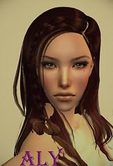 Allison Mudd (Charlotte) PP with make up..