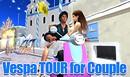 Vespa tour for couple A
