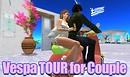 Vespa tour for couple B