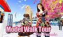 Model walk tour for female