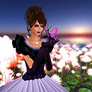 Kathie and butterfly