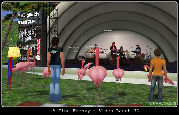 A Fine Frenzy Performs in Video Ranch 3D