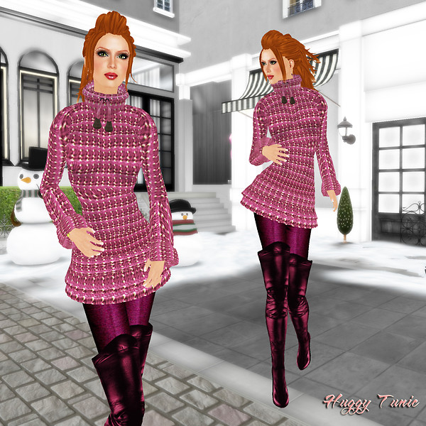 Prism 2010 Huggy Tunic and pink Boots