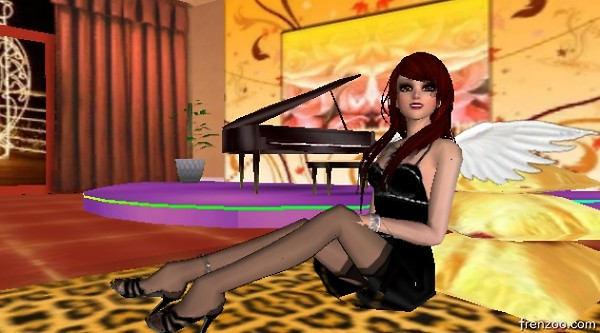 Bellamante Sitting On Floor