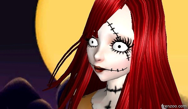Sally close up.