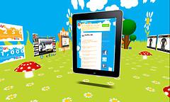 iPad Twitter Feed Board