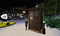 Wooden TARDIS