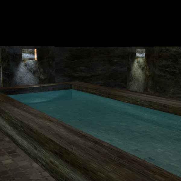 Palace Pool at Night