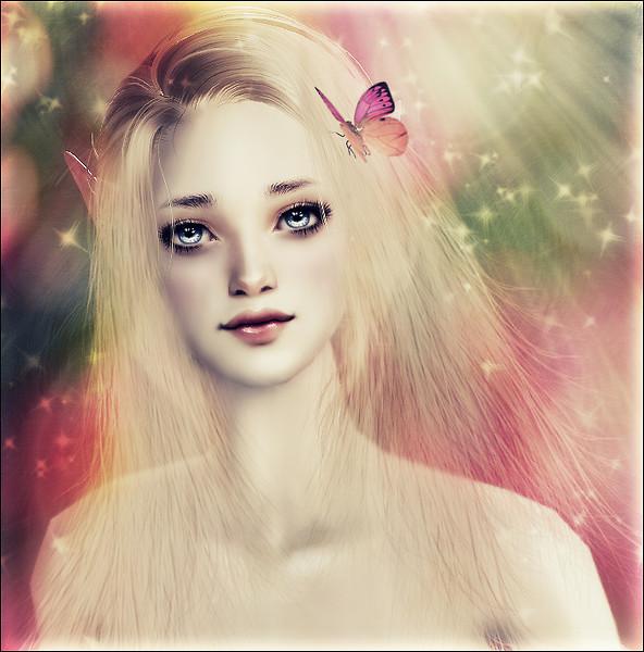 Sweet, Blonde Elf...ூ