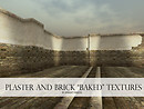 "Plaster and Brick ""Baked"" Textures"