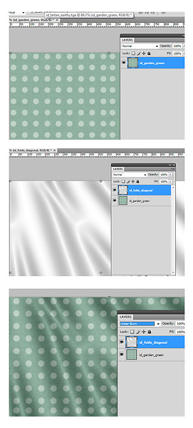 Tutorial in photoshop: creating folds and crease