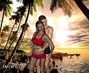 Sunset couple......