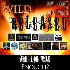WILD.Released banner