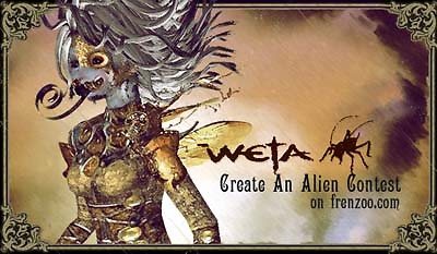 Weta Create an Alien Contest