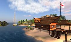 Our Tiki on Brenda's Isle