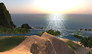Setting sun from Hang Glider Mount