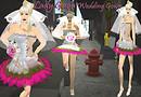 Lady Gaga wedding dress Punk style_016