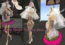 Lady Gaga wedding dress Punk style 2_028