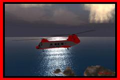 CH-46 at Balboa Bay