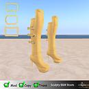 Sculpty Boots B&W AD