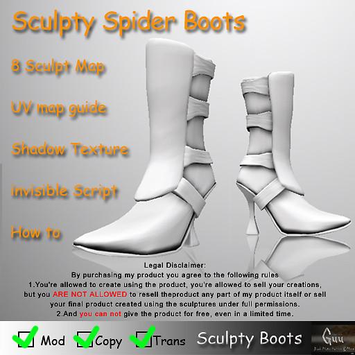 Spider BootsAD copy