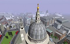 Twinity: London from above