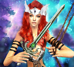 The goddess Freyja