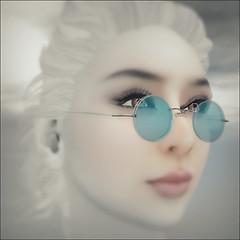 "[KASA] Glasses ""Aqua"""
