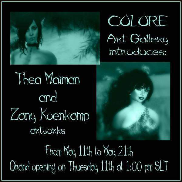 Thea and Zany exhibit