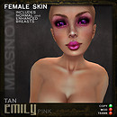 MAKEUPS EMILY TAN PINK