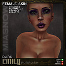 MAKEUPS EMILY DARK PURPLISH