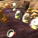 who wants a table of cute critters? - Torley Olmstead