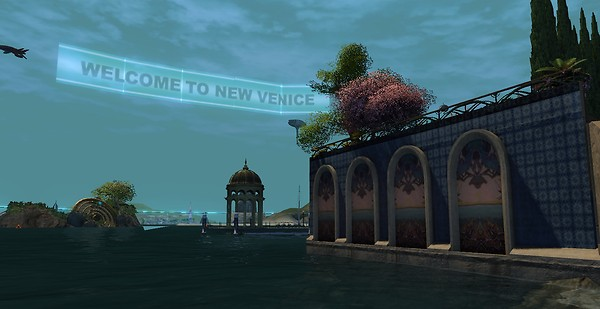 Blue Mars' New Venice!
