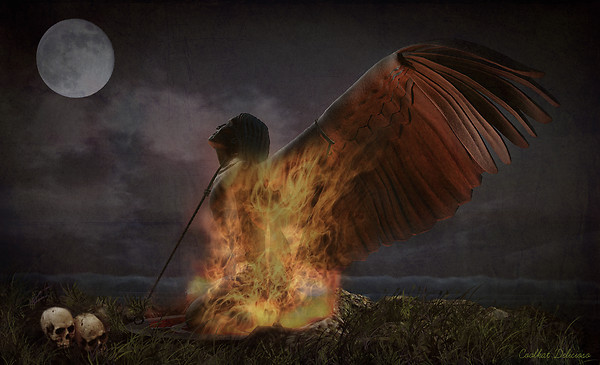 Burning an Angel