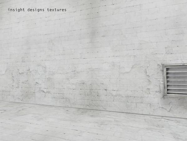 Grunge white Brick Walls by insight designs 1