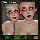 PRODUCT POSTER MAKEUPS NINA MAKEOUT PALE WICKED