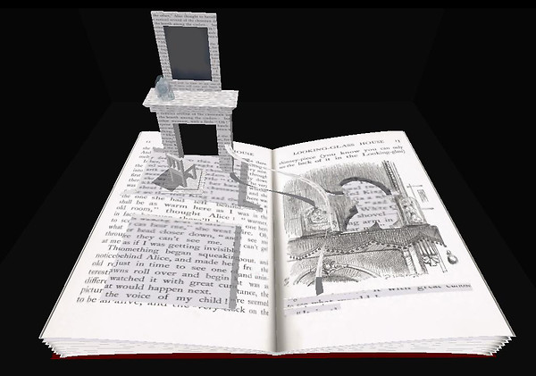 Alice Book Sculpture @ Art Box