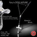 You's DOG HOUSE Rosario black