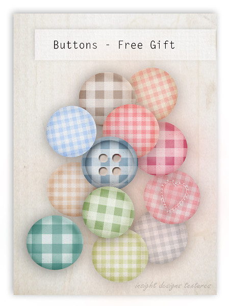 Buttons and Badges free Group Gift