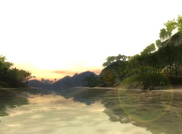tropical paradise 3D