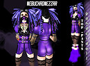 NDN - Panderdoll Cybergoth Outfit