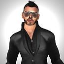 Self Portrait Surviving Option: Black Suit