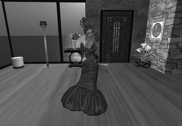 Ingrid in Monochrome