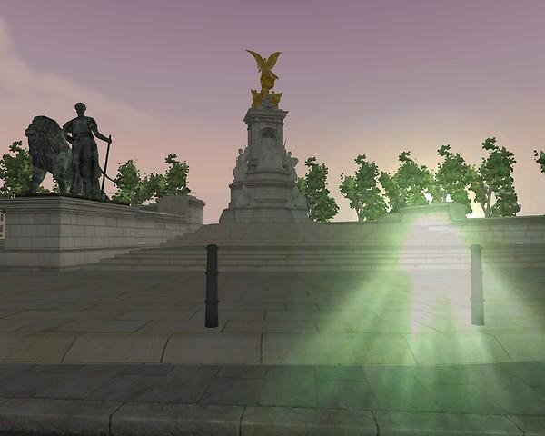 Dawn at Victoria Memorial