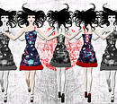 Japanese Silk Dress