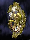 gold emitter ball_