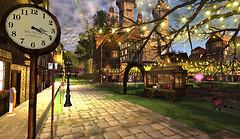 Old Europe Village at Sunrise jazz_002