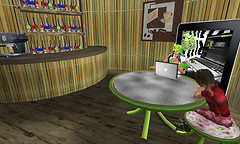 FritzDaKat Cyber Cafe - Gadget and Buddy