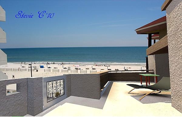 Beach Balcony View....